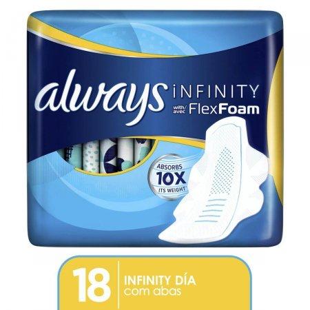 Absorvente Always Infinity Regular