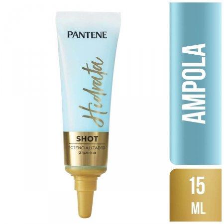 Ampola Pantene Hidratação Shot Potencializador com 15ml