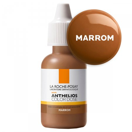 Pigmento Facial Anthelios Color Dose Marrom