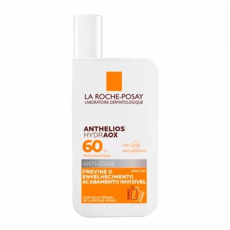 Protetor Solar Anthelios Hydraox FPS60 Sem Cor