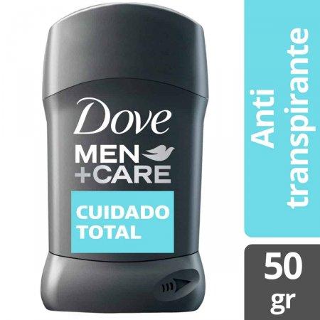 Antitranspirante em Barra Dove Men Cuidado Total 48h 50g |