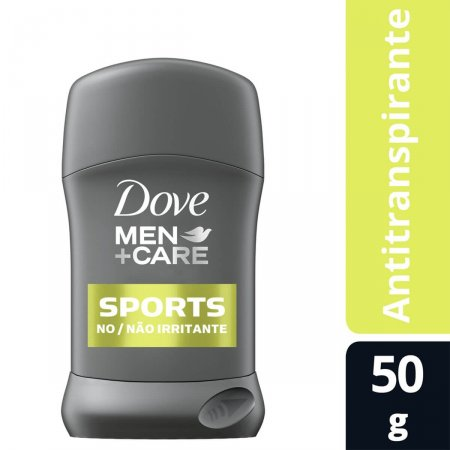 Antitranspirante em Barra Dove Men Sports Active Fresh 48h 50g |