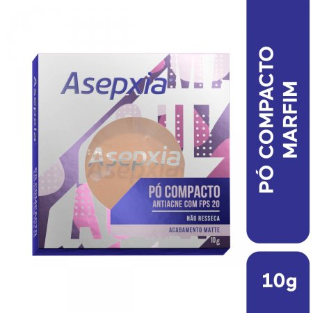 Pó Compacto Asepxia Marfim