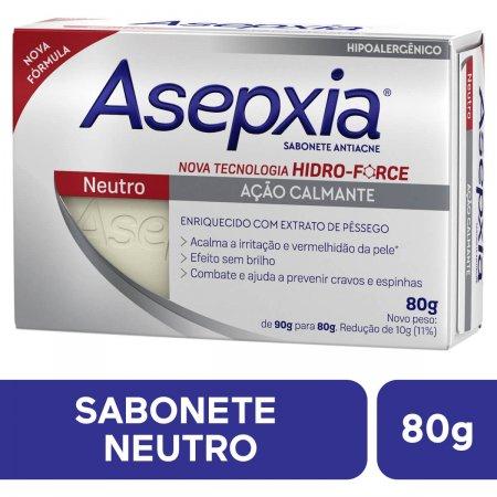 Sabonete em Barra Asepxia Neutro