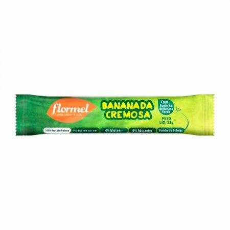 Bananada Cremosa Flormel Zero Açúcar com 22g
