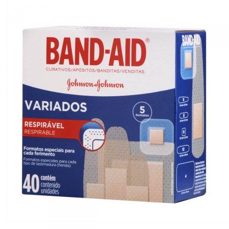 Curativos Band-Aid Variados