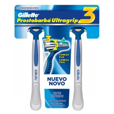 Aparelho para Barbear Descartável Gillette Prestobarba Ultragrip3