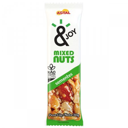 Barra de Mixed Nuts Semente