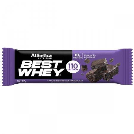 Barra de Proteína Best Whey Sabor Brownie de Chocolate com 32g