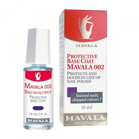 Base Incolor para Unhas Mavala 002 Protective Coat