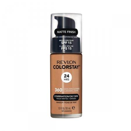 Base Líquida Revlon Colorstay FPS15 Golden Caramel 360
