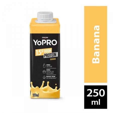 Bebida Láctea YoPRO Banana com 250ml