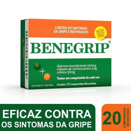 Benegrip com 20 Comprimidos