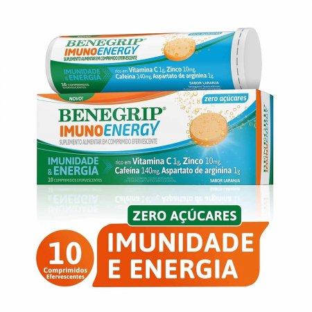 Benegrip Imuno Energy com 10 Comprimidos Efervescentes