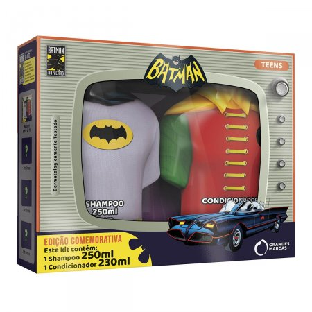 Kit Shampoo + Condicionador Batman Teens