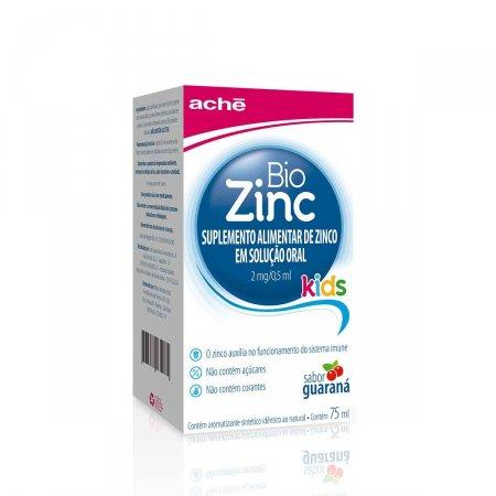 BioZinc Kids 2mg/0,5ml Solução Oral 75ml
