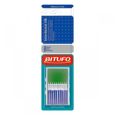 Escova Interdental Bitufo HB Cônica com 10 unidades