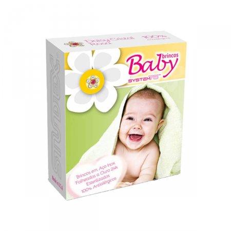 Brinco Studex Baby Daisy Cristal Rosé