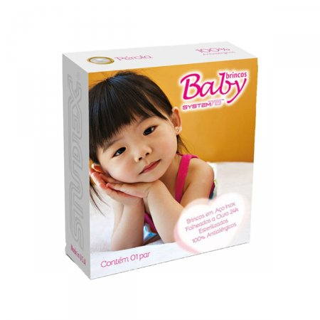Brinco Studex Baby Pérola