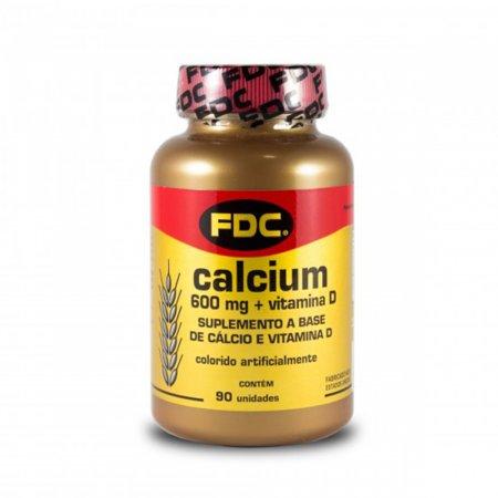 Cálcio 600mg + Vitamina D FDC
