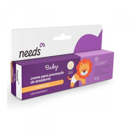 Creme Para Prevenção de Assaduras Needs Baby Amêndoas