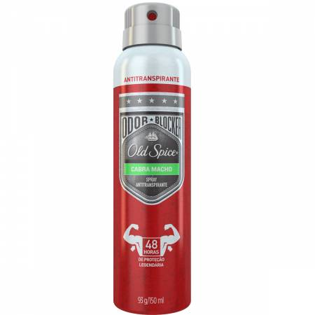 Desodorante Spray Old Spice Cabra Macho