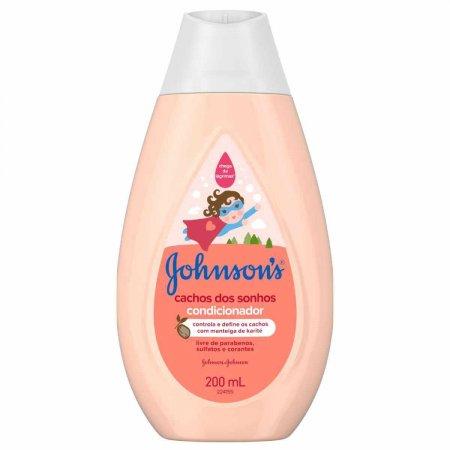 Condicionador Johnson's Baby Cabelos Cacheados