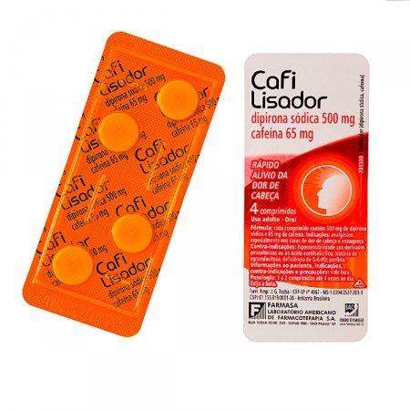 CafiLisador com 4 Comprimidos |