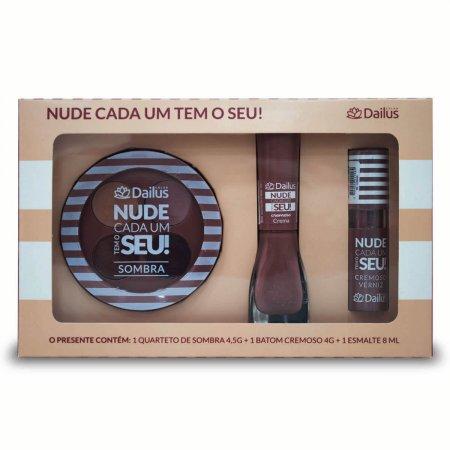Kit 1 Dailus Nude Cada Um Tem o Seu!