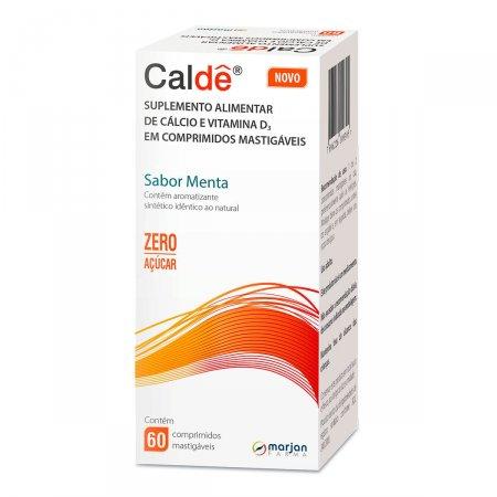 Caldê Sabor Menta com 60 Comprimidos |