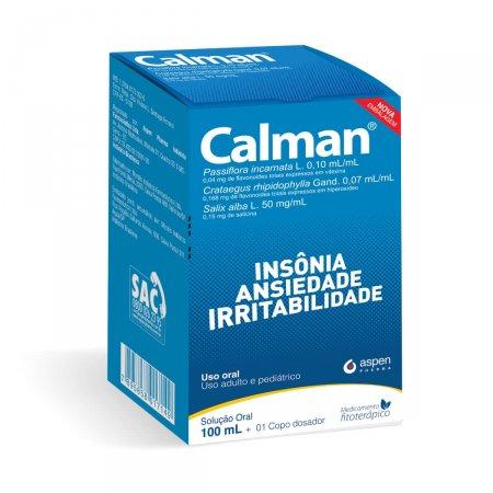 CALMAN SOLUCAO ORAL 100 ML | Drogaraia.com Foto 1