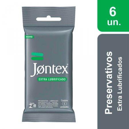 Camisinha Jontex Confort Plus Extralubrificado com 6 unidades