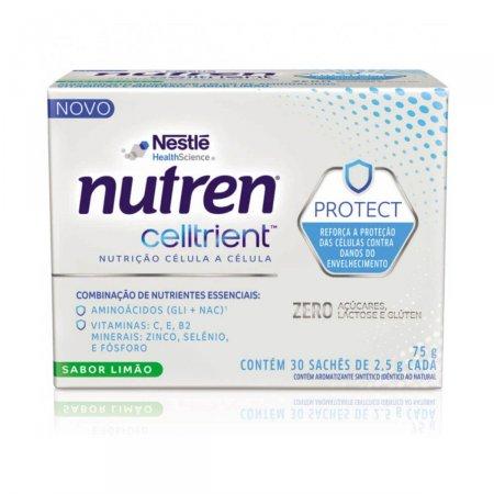 Complemento Nutren Celltrient Protect Sabor Limão