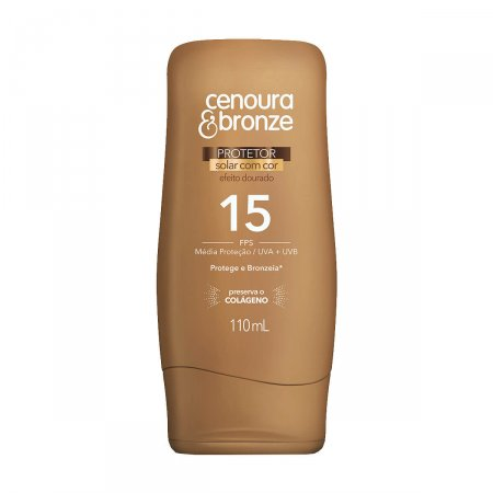 Protetor Solar Cenoura & Bronze FPS15