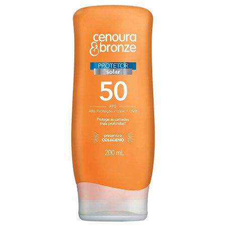 Protetor Solar Cenoura & Bronze FPS50