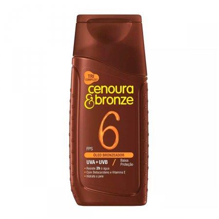 Óleo Bronzeador Cenoura & Bronze FPS6