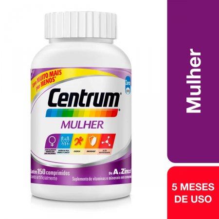 Suplemento Vitamínico-Mineral Centrum Mulher com 150 comprimidos