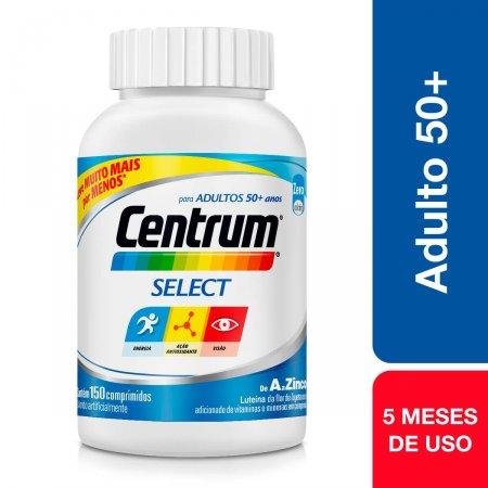 Suplemento Vitamínico-Mineral Centrum Select 50+ com 150 comprimidos