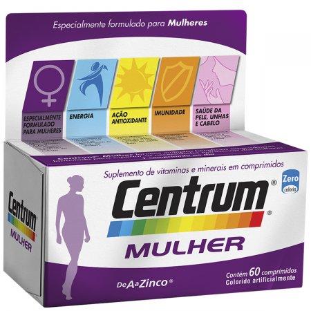 Complexo Vitamínico Centrum Mulher