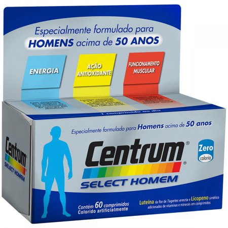 Complexo Vitamínico Centrum Select Homem