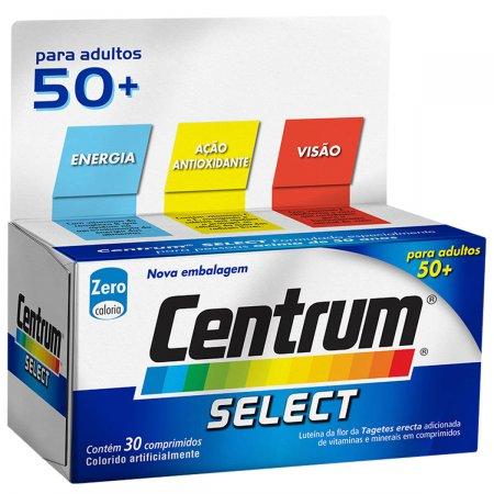 Complexo Vitamínico Centrum Select para Adultos +50