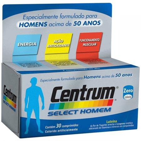 Complexo Vitaminico Centrum Select Homem
