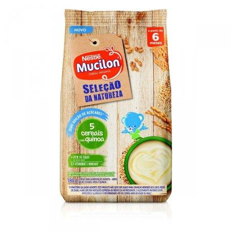 Cereal Infantil Mucilon Seleção da Natureza 5 Cereais com Quinoa 180g | Drogaraia.com Foto 1