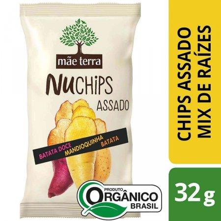 Chips Mãe Terra NuChips Batata Doce, Mandioquinha e Batata