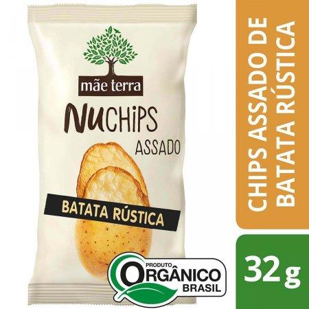 Chips Mãe Terra NuChips Batata Rústica