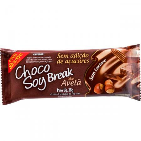 Chocolate Choco Soy Break Avelã