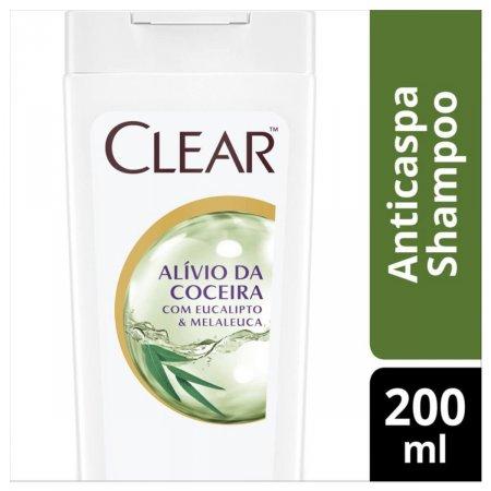 Shampoo Anticaspa Clear Woman Controle e Alívio da Coceira