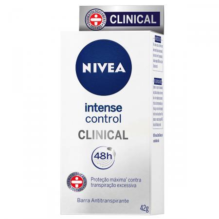 Barra Antitranspirante Nivea Clinical Intense Control