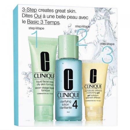 Clinique Skin Care System 4 de 3 passos