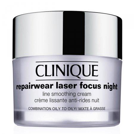 Creme Anti-idade Clinique Repairwear Laser Focus Night Line Smoothing